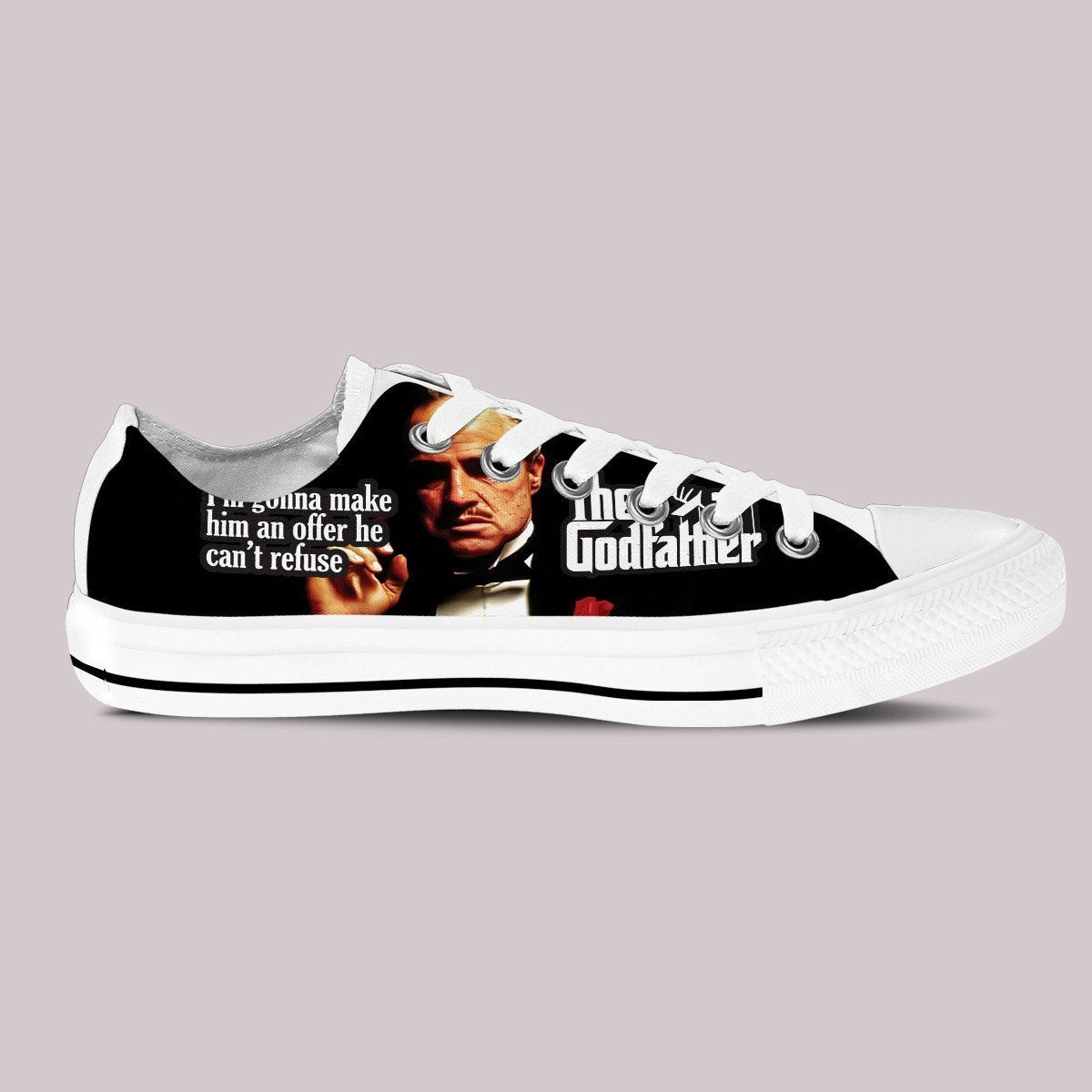 the godfather mens low cut sneakers