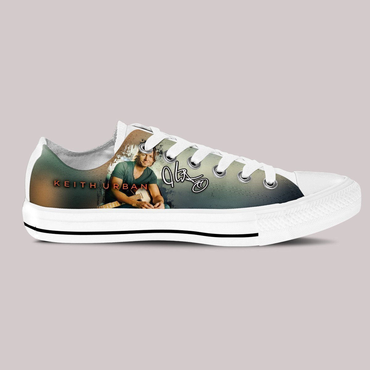 keith urban mens low cut sneakers