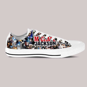 michael jackson ladies low cut sneakers