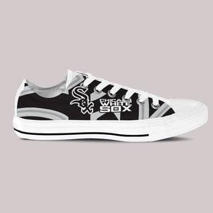 chicago white sox new ladies low cut sneakers
