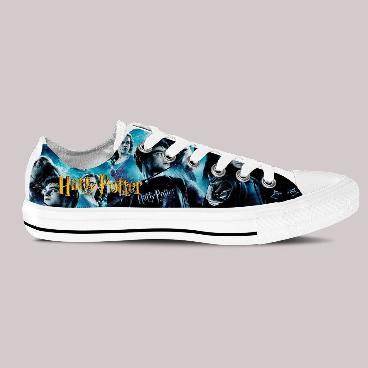 harry potter mens low cut sneakers