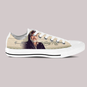 kenny rodgers ladies low cut sneakers