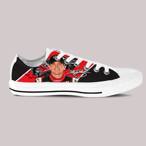 kurt busch ladies low cut sneakers