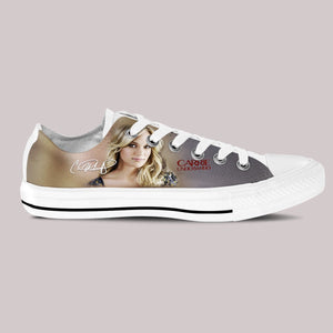 carrie underwood mens low cut sneakers