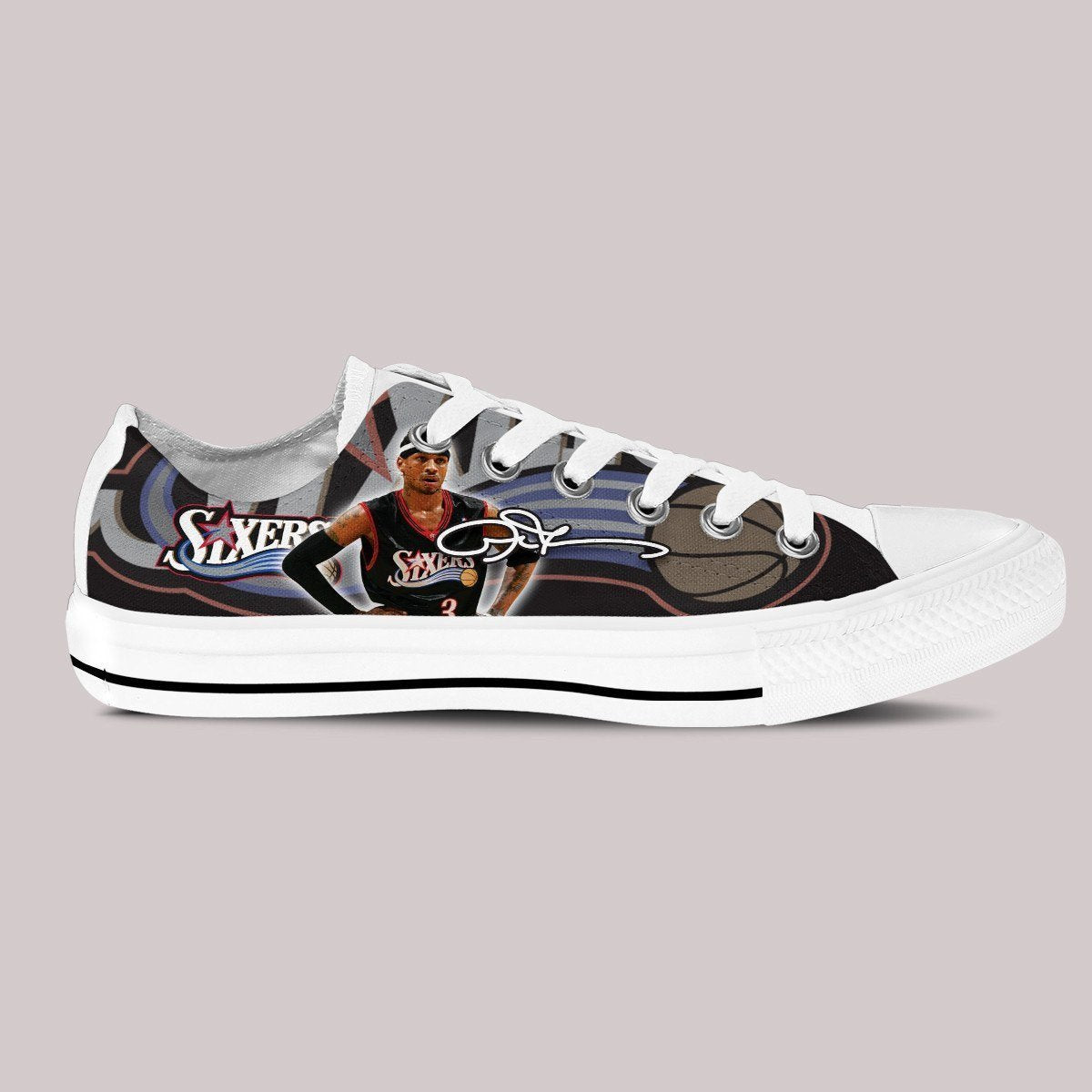 allen iverson ladies low cut sneakers