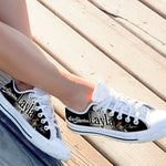 eric clapton ladies low cut sneakers