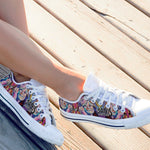 janis joplin ladies low cut sneakers