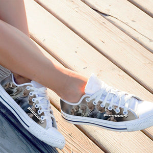 furious 7 ladies low cut sneakers