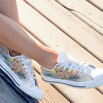 dolly parton ladies low cut sneakers