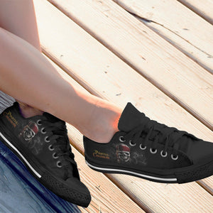 pirates of the caribbean ladies low cut sneakers