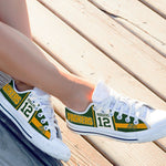 aaron rodgers ladies low cut sneakers