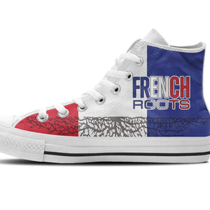 french roots ladies high top sneakers