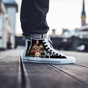 tupac shakur mens high top sneakers high top