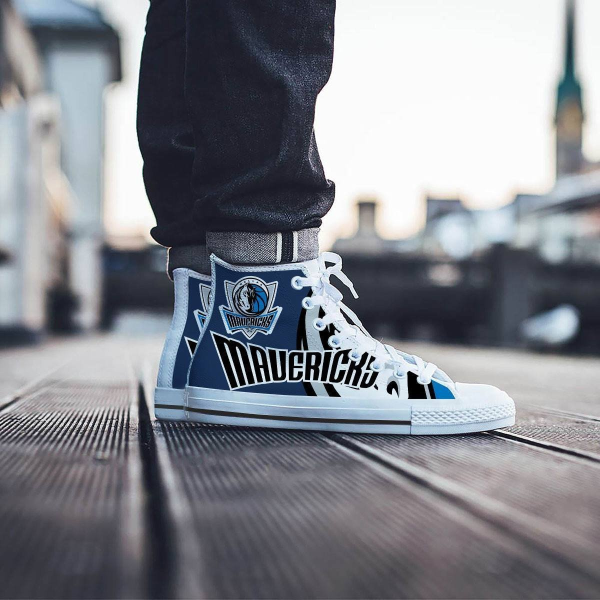 dallas mavericks mens high top sneakers high top