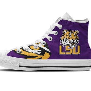 lsu tigers mens high top sneakers high top