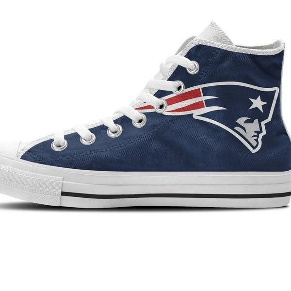 new england patriots mens high top sneakers high top