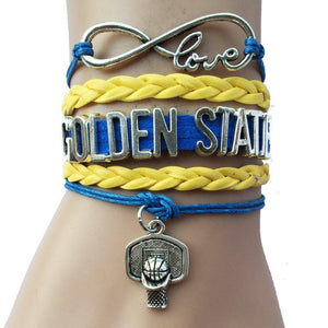 golden state warriors infinity love bracelet free
