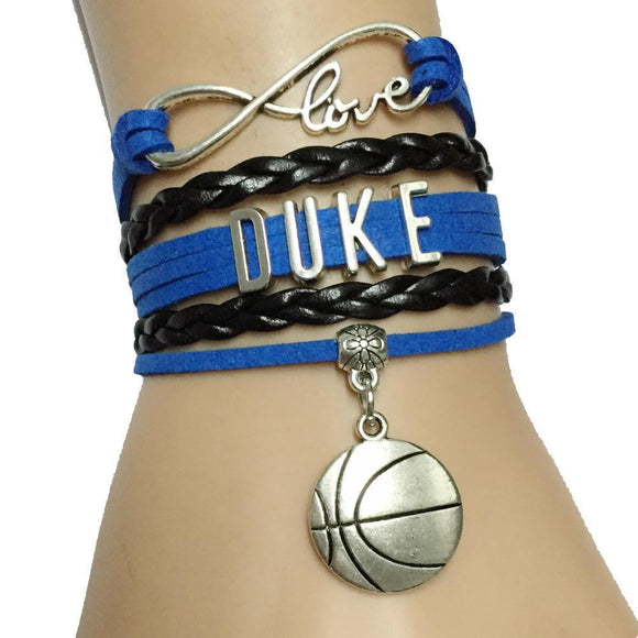 infinity love duke basketball team sports bracelet free just pay shipping