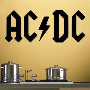 ACDC Rock Wall Decals Wallpaper Poster HUGE Free Shipping