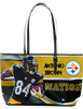 Antonio Brown Cool Large Leather Tote