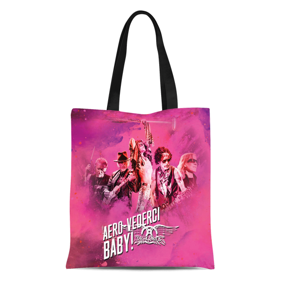 Aerosmith Cotton Tote