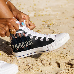 third day band ladies high top sneakers