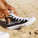 motley crue ladies high top sneakers