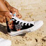 the godfather ladies high top sneakers