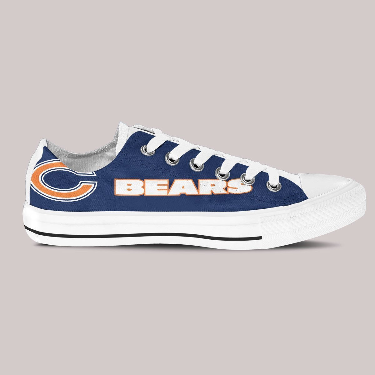 chicago bears ladies low cut sneakers