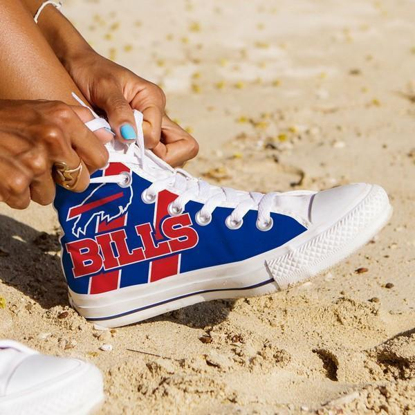 buffalo bills ladies high top sneakers