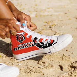 cincinnati bengals ladies high top sneakers
