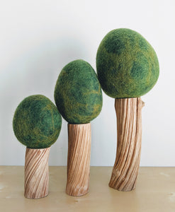 Felt Seasonal Trees - Summer