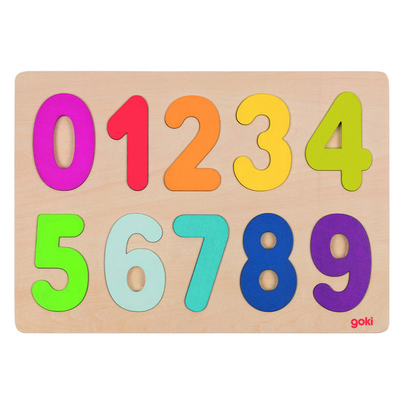 Number Puzzle 0-9