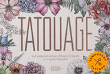 Tatouage; BLOSSOM Temporary Tattoos