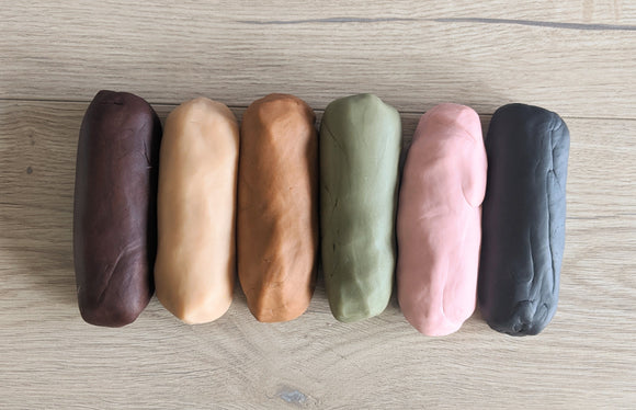 Clay Dough - Earth Colours