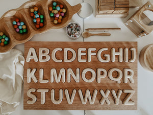 Wooden Alphabet Set, Uppercase