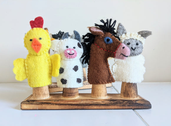 Finger Puppets, Farm Animals