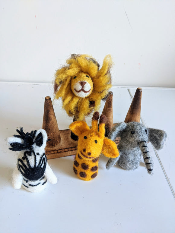 Finger Puppets, African Animals
