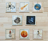 Space Theme Puzzles, set of 8
