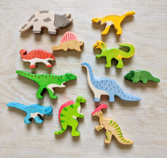 Dinosaurs Collection - Holiztiger Wooden Animals