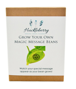 Grow Your Own Magic Beans, message