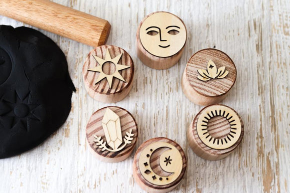 Celestial Boho Stampers, set of 6