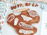 Monarch Butterfly Lifecycle Eco Cutter Set
