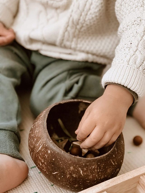Coconut Sensory Bowl