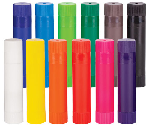 Colour Slicks, pack of 12