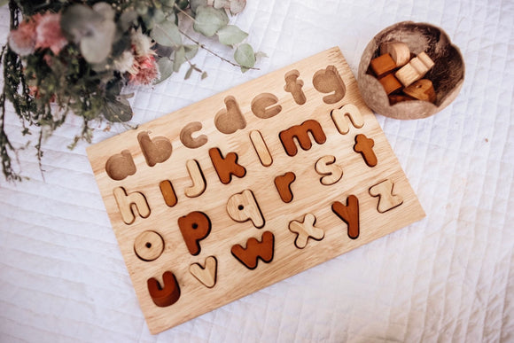 Alphabet Puzzle - Lower Case