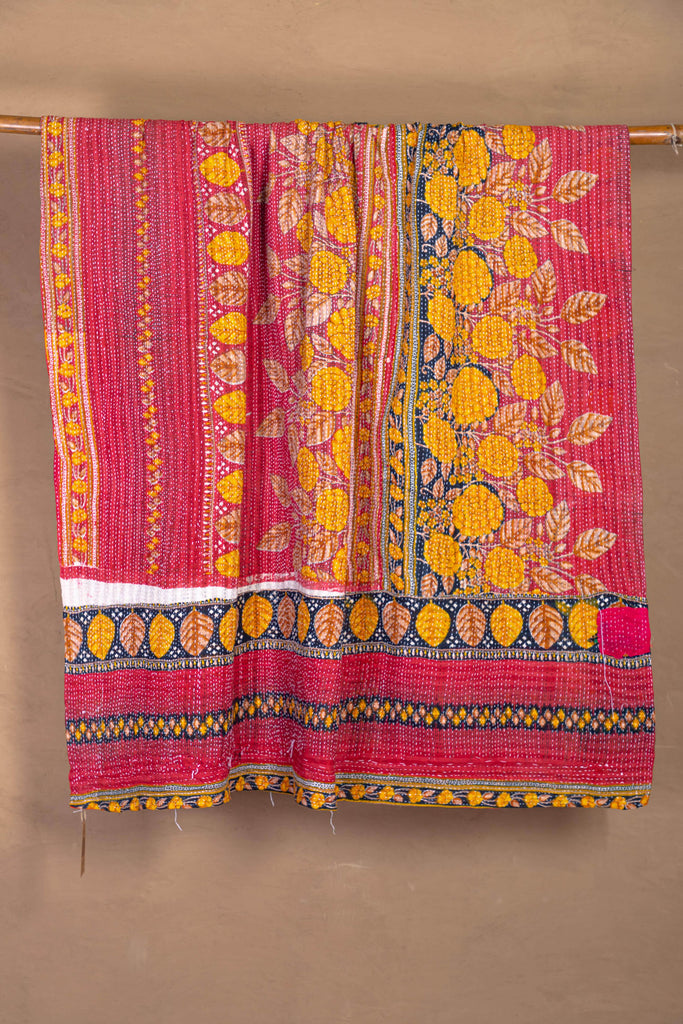 Vintage Kantha Throw - 146