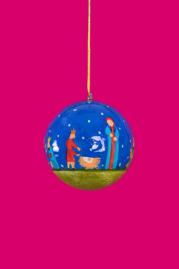 Quirky Silhouette Christmas Bauble