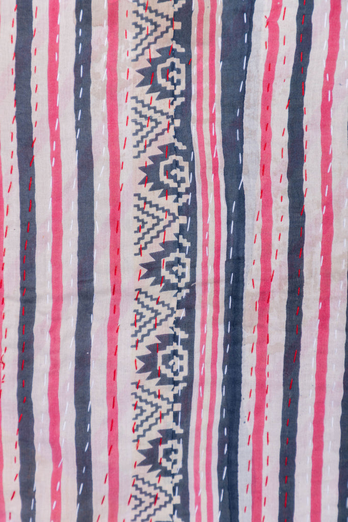 Vintage Kantha Throw - 108