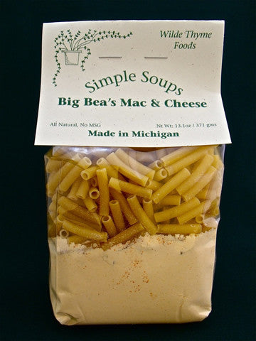 Big Bea's Mac & Cheese Soup
